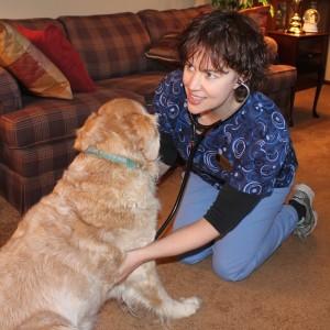 Dr. Karen Louis and Twister