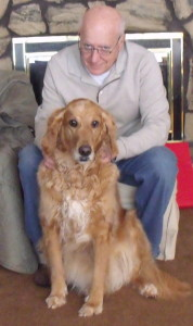 Abby had lymphoma, and was able to get chemotherapy at home!