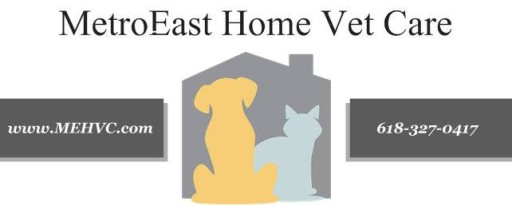Metro-East Home Vet Care Logo
